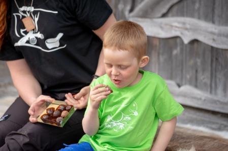 Ekologisk t-shirt i barnstorlek