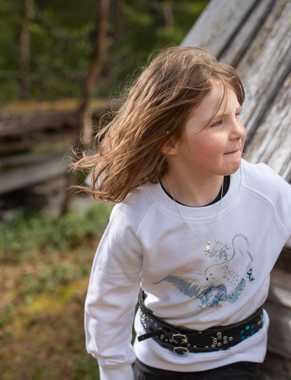 Ekologiska barnkläder- Tröja i ekologisk bomull.